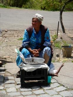 Armenian Woman Selling Seeds